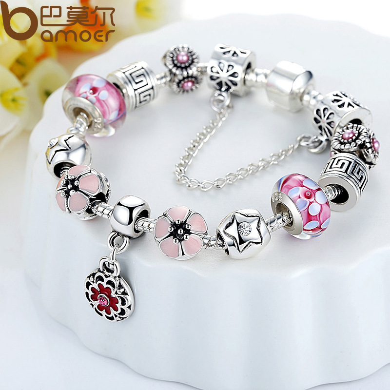 itm tibetan pa female diy beaded diamond bracelet silver crystal beads