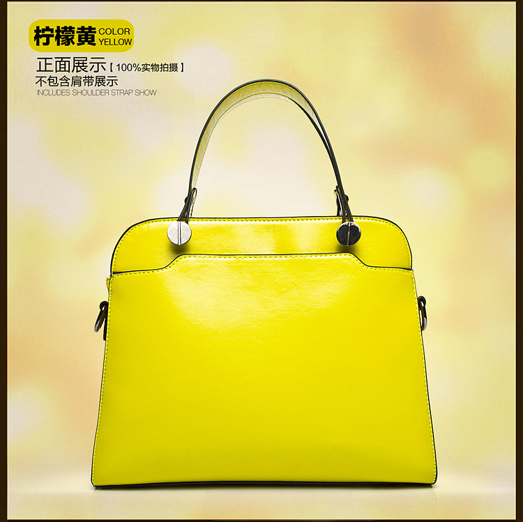 High quality handbag boutique wax oil skin restoring ancient ways with cowhide interlayer handbag more fem's main photo