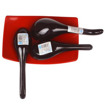 盛广达双色大头高尾汤勺S9101 餐厅酒店家庭通用厨房专用正品密胺图片