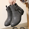 Europe and the United States of new fund of 2015 autumn winters shoes boots and thick with female boots boots
