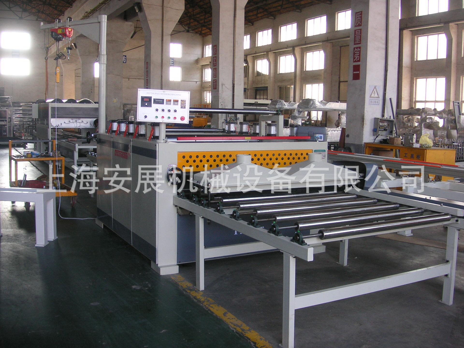 聚氨酯PUR热熔胶包覆机 线条、铝材型材万能型包覆机、环保不开胶