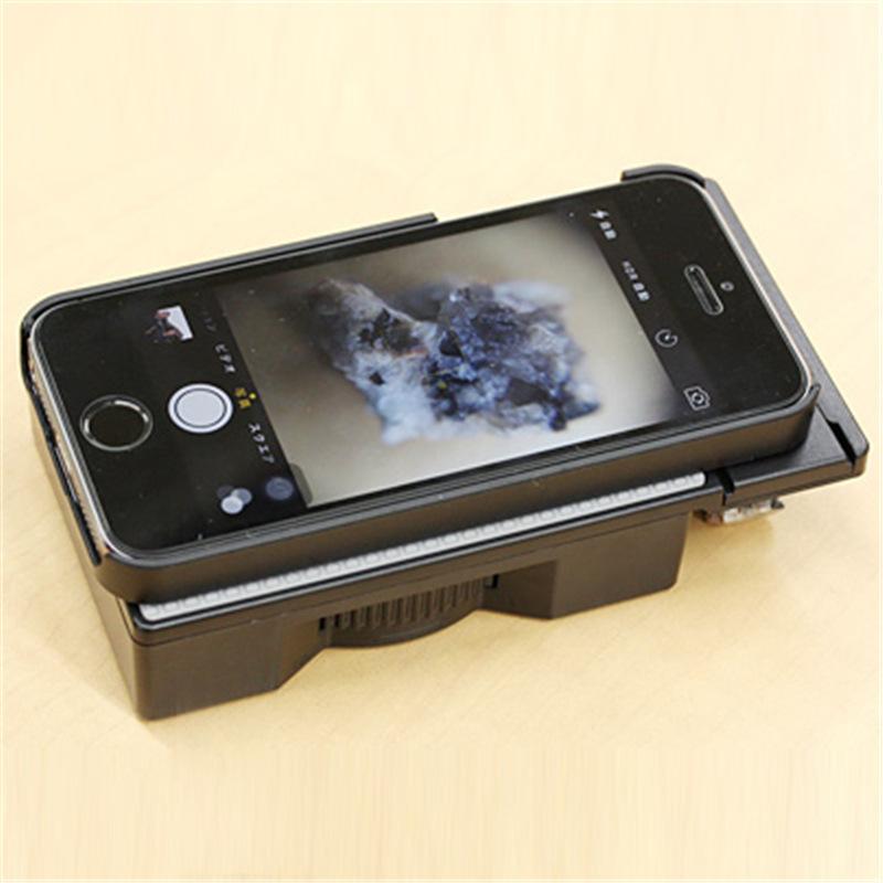 放大效果手机显微镜中小学便携式苹果安卓手机平板放大显微镜80倍