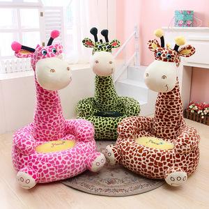 创意儿童毛绒玩具可爱动物小熊懒人沙发卡通榻榻米儿