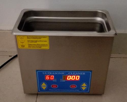 加热状态下的超声波清洗机