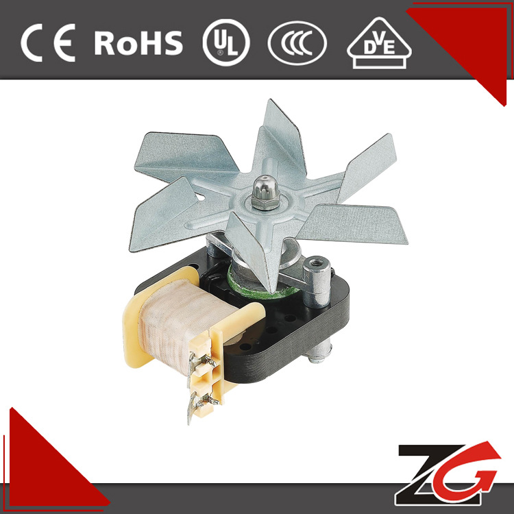 YJ6112罩极交流电机 电炒锅电机 空气炸锅电机 微型减速电机图片