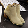 In the fall and winter of 2015 designer shoes in Europe and the thick with Martin boots suede short boots w
