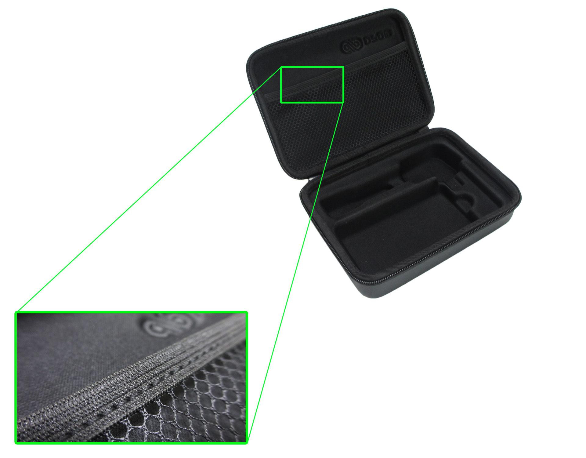 EVA车载包内部网状细节
