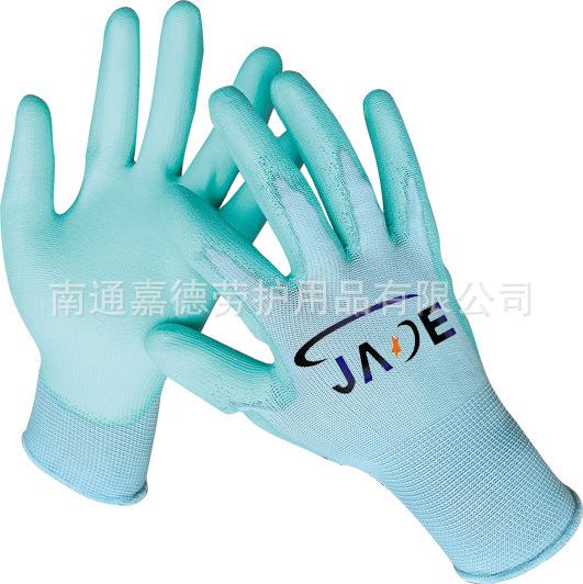PU手套 13针尼龙内里优质PU涂层