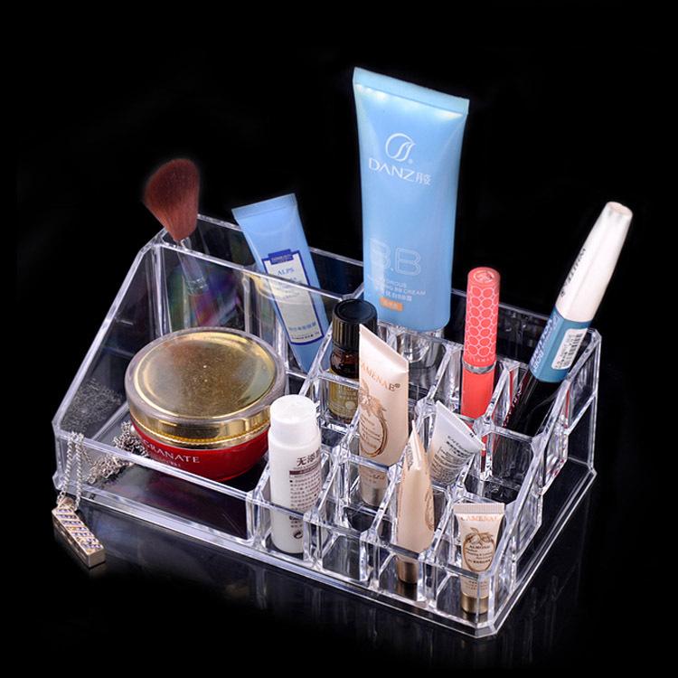 厂家直销 生活用品 实用家居1029透明化妆盒首饰盒亚克力饰品盒