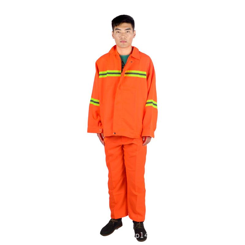 保洁工作服 环卫服反光衣 马路保洁服 工装批发图片