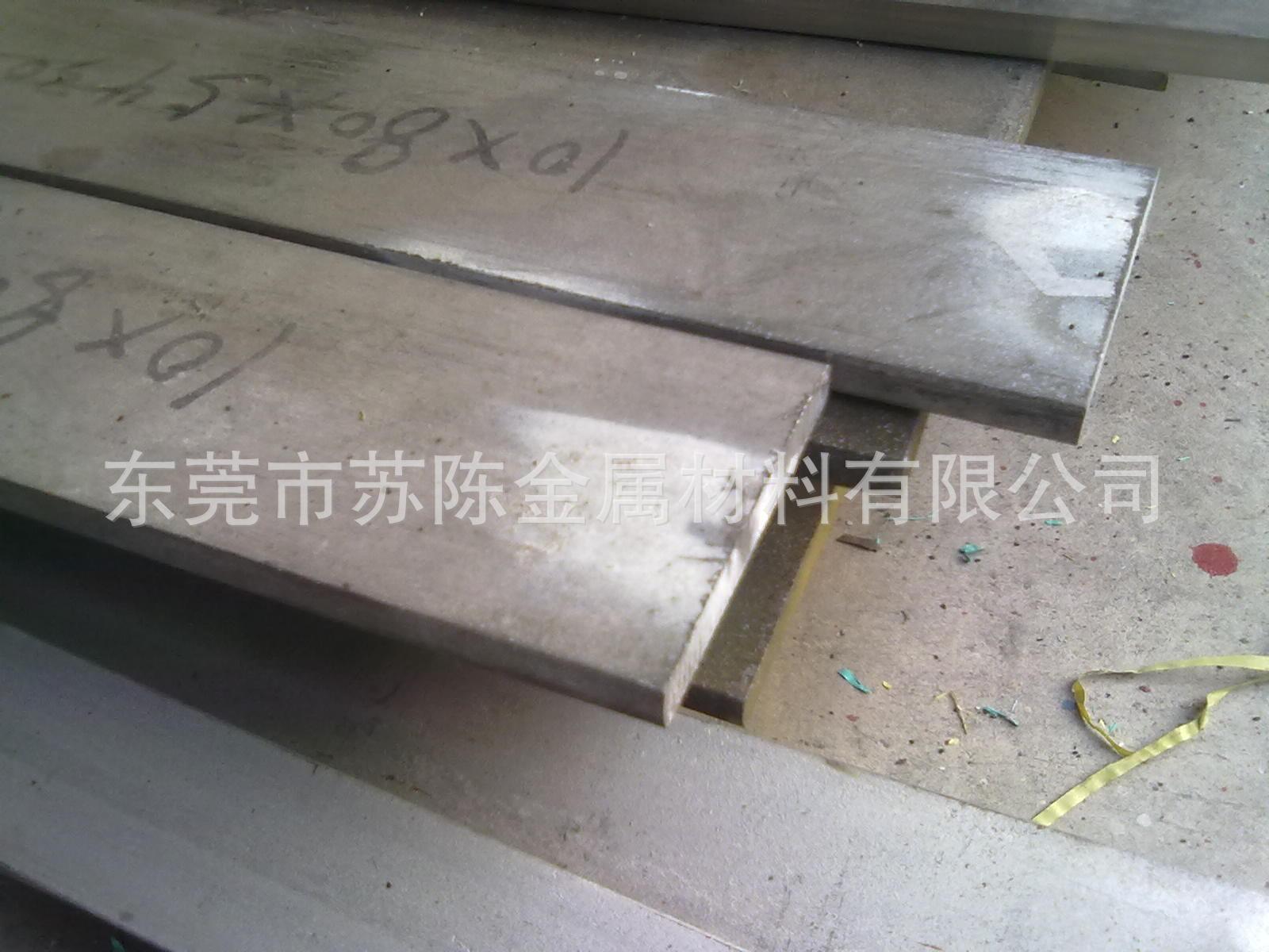 苏陈长期供应201 304 316不锈钢扁钢 冷轧扁条 光亮不锈钢