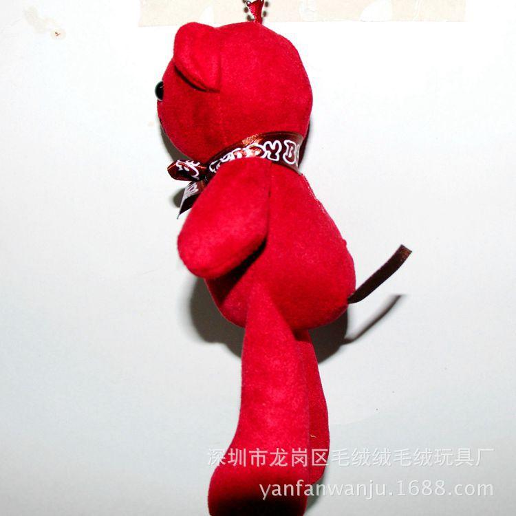 现货韩国暴力熊挂件 泰迪小熊挂件 女生包包挂件小熊厂家批发直销