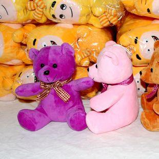 毛绒玩具眼镜熊 来图来样定做眼镜熊 眼镜熊厂家直销欢迎订购