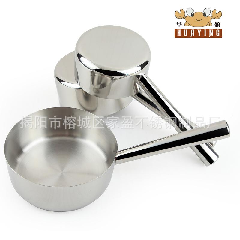 厨房小工具 华盈不锈钢加长多尺寸水壳 水瓢 家用水勺 盛水小工具图片_8