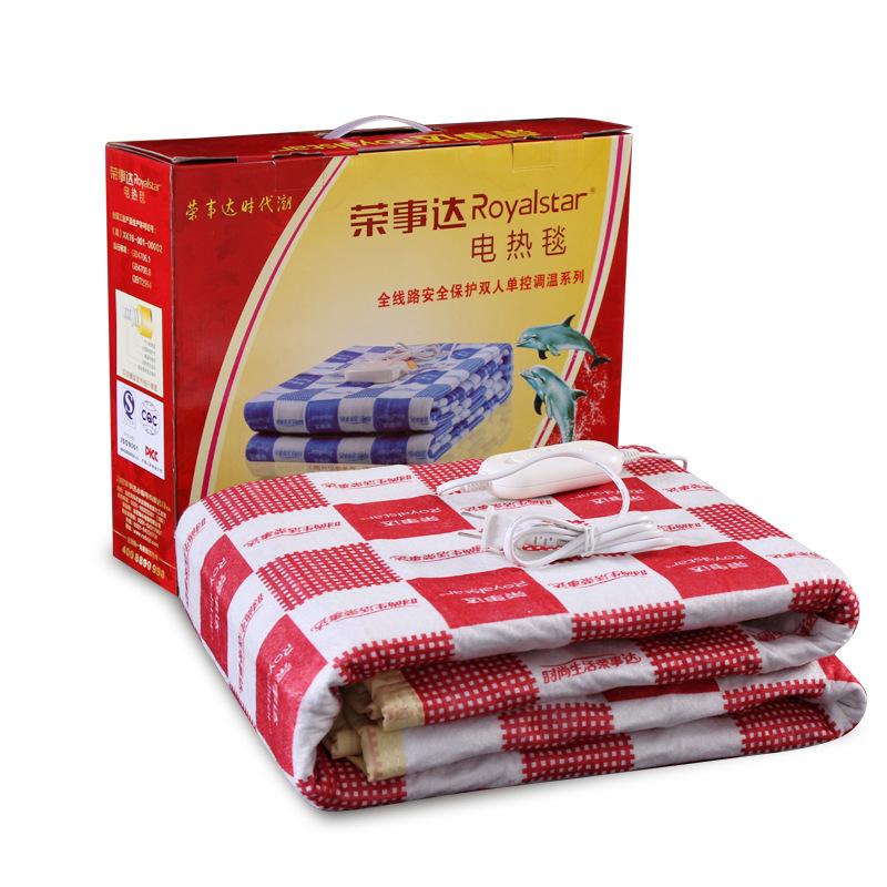 荣事达电热毯R1516双人电热毯家用电褥子单控调温安全防水恒温图片