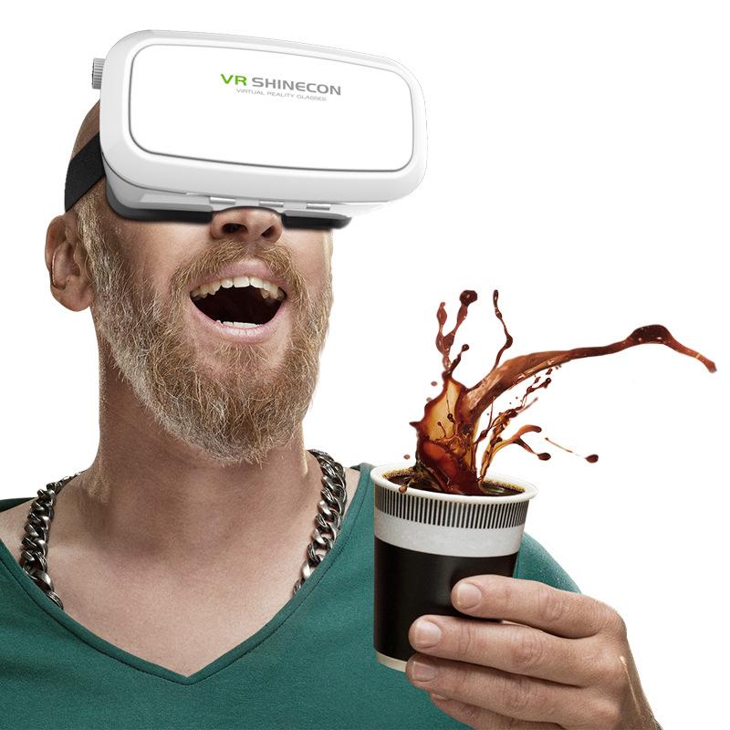 新品virglass3D眼镜 虚拟现实头盔 数码VR眼镜 3d魔镜工厂直销