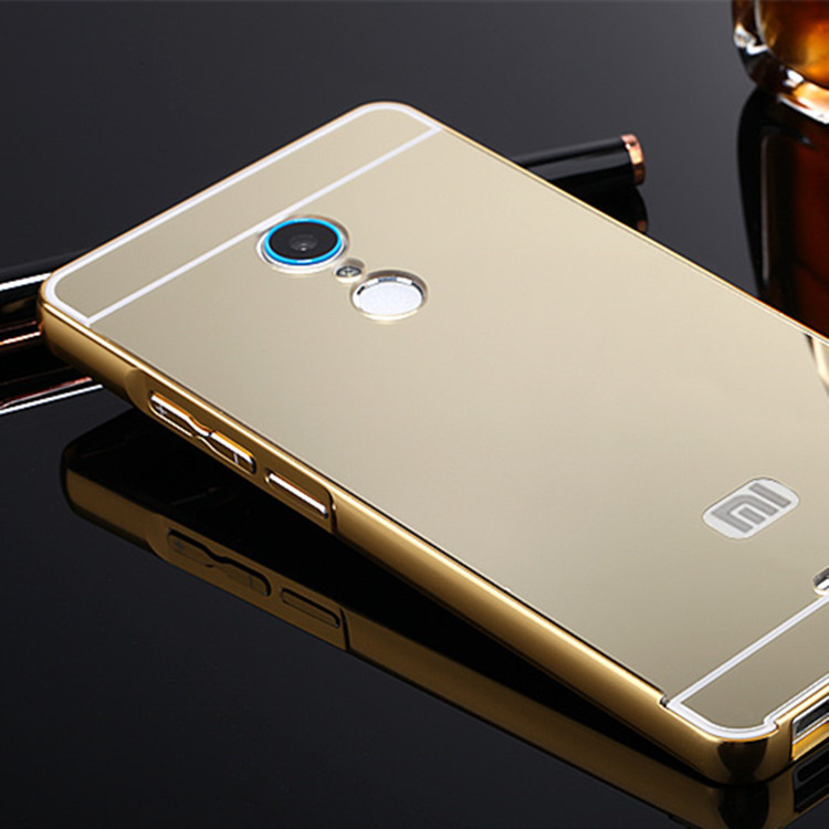 红米 note 3手机 壳 红米 note 3 镜面 金属边框 小米图片