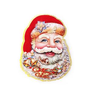 圣诞老人贴画大号老人头贴纸橱窗玻璃贴圣诞节家庭