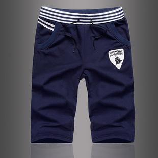 2015夏季新款 时尚男式休闲裤 男式五分裤 男士个性5分裤批发