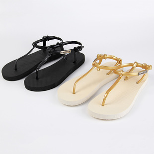 Custom flat thong sandals women sandals lady summer cool with sandals Wholesale trade package