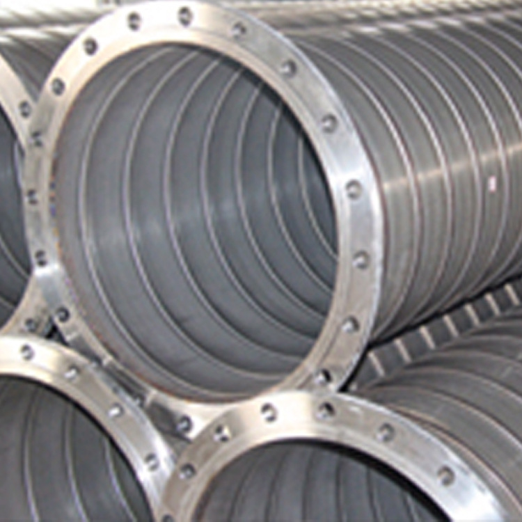 煤矿井下瓦斯用不锈钢螺旋咬合钢管 螺旋钢管 聚乙烯涂层钢管图片