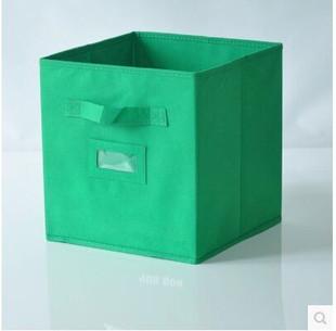 厂家直销 无纺布整理收纳箱 居家创意储物整理百纳收纳箱