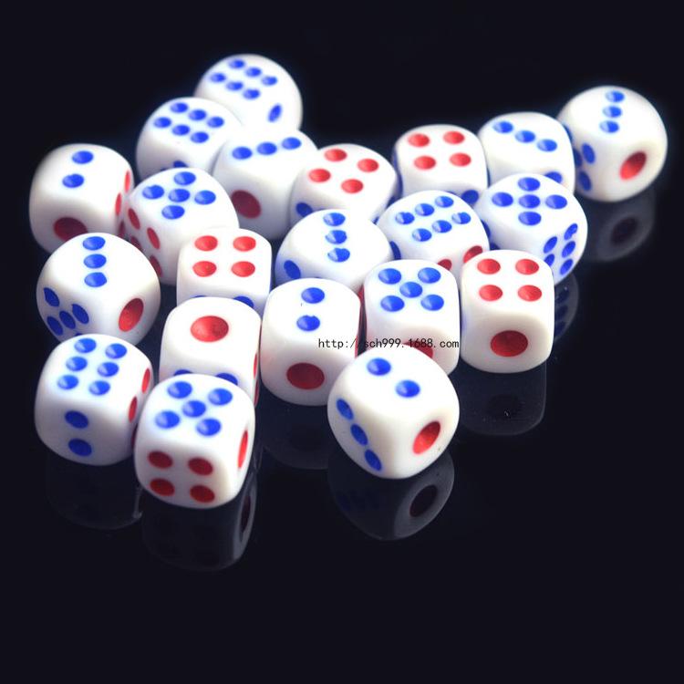骰子 色子 筛子麻将色子情趣骰子 酒吧KTV游戏必备一包100粒图片
