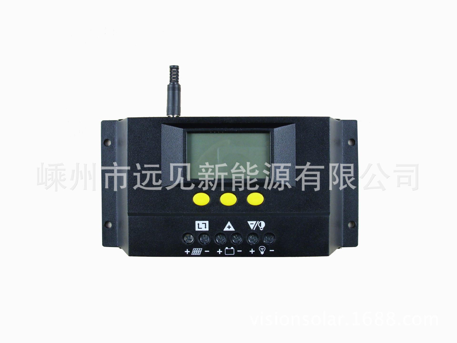 lcd液晶屏幕太阳能控制器pwm太阳能控制器