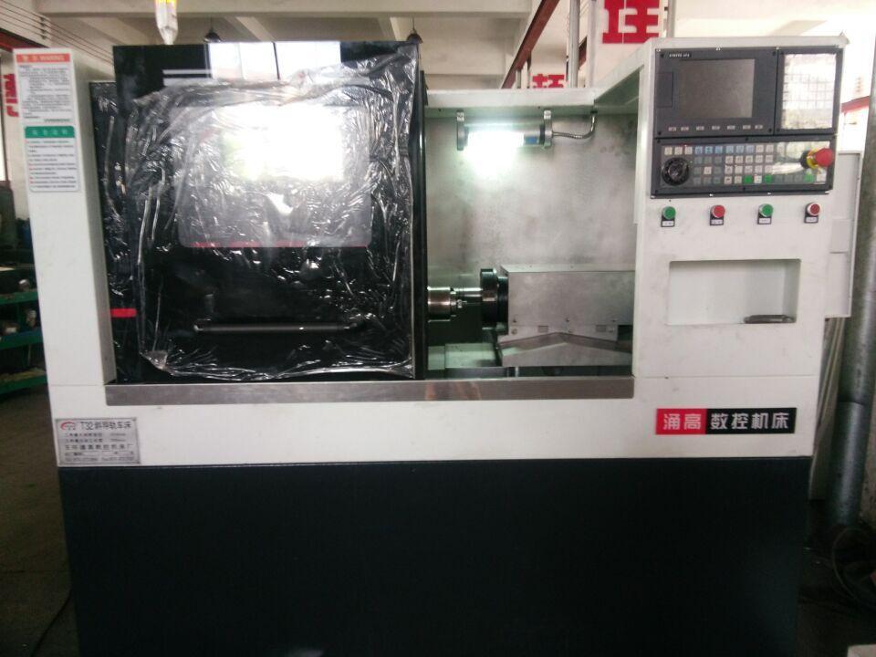 台州市车方机供应生产自动数控机床切角多边形车方机 涌强数控