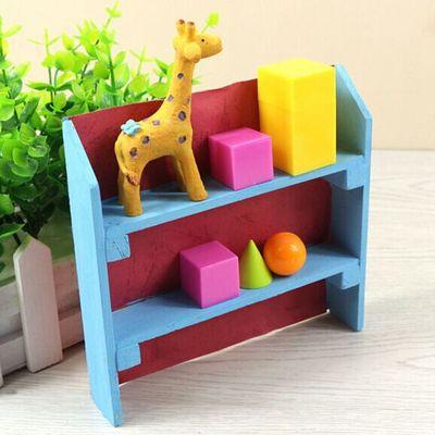 简易小书架批发diy创意科技手工小制作木制创意玩具自制模型材料