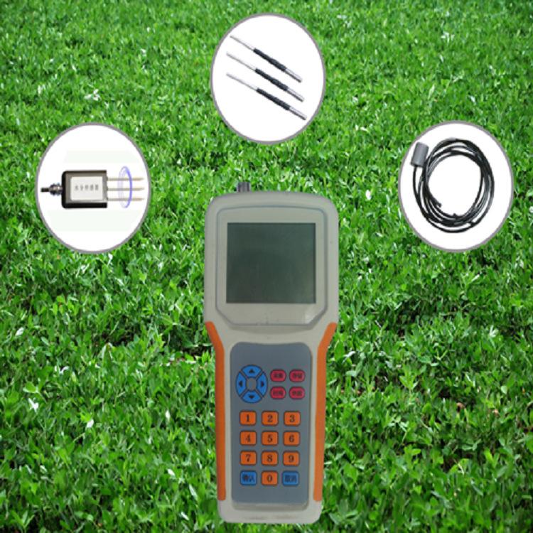 土壤水分温度盐分速测仪 土壤水分温度盐分测定仪