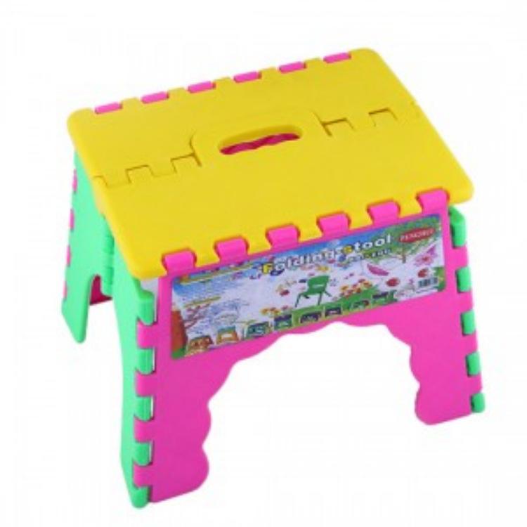 百货批发供应 创意家居 小商品百货批发 塑料折叠凳 折叠凳批发图片