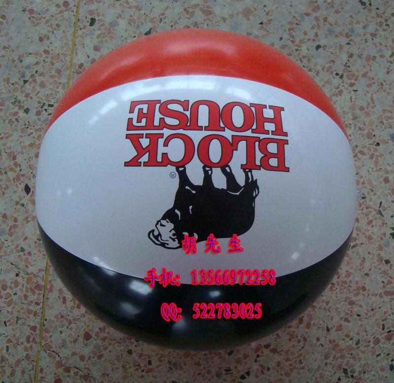 充气沙滩球广告球图片
