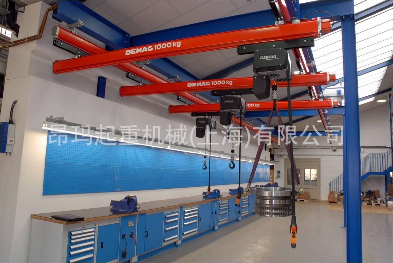 悬挂起重机生产厂家,德马格KBK悬挂组合起重机重机