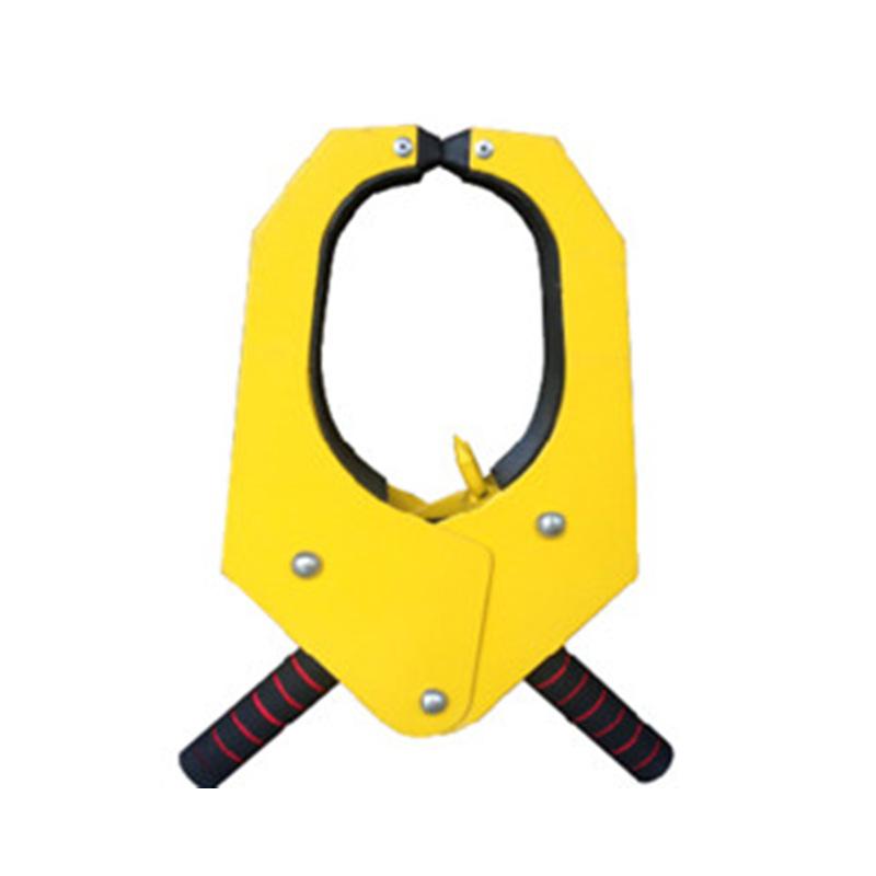 U型车轮锁 汽车防盗轮胎锁 执法专用锁 锁车器 加厚