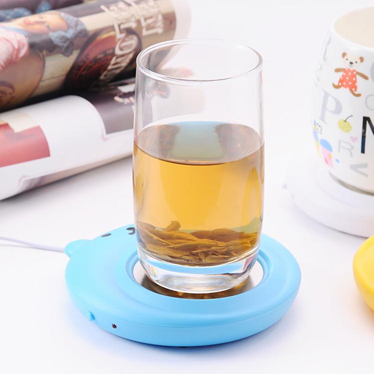 思g USB小熊保温碟 保暖杯垫 电热杯垫 加热杯垫