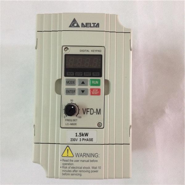 臺達變頻器VFD037M43A超低噪音迷你型3.7kw,三相380V