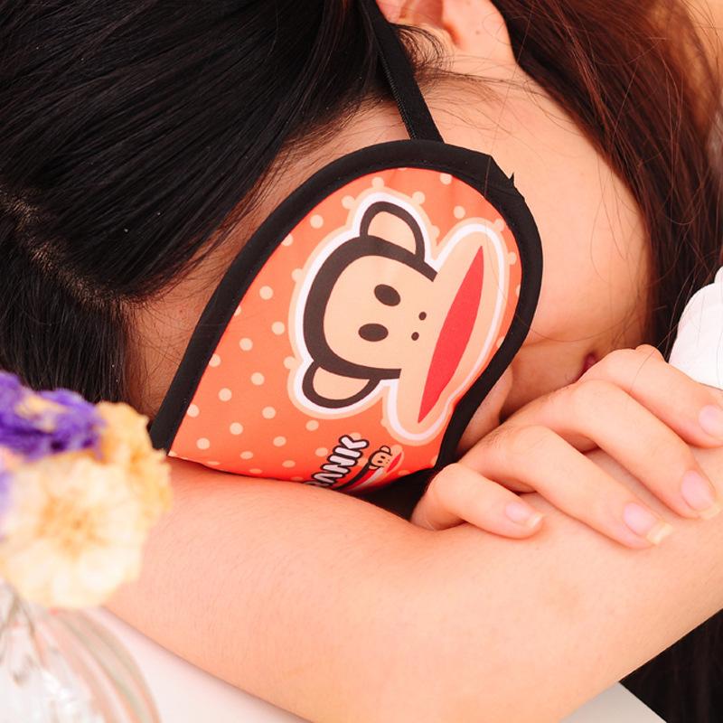 创意卡通搞怪冰凉眼罩 睡眠遮光眼罩 缓解疲劳透气护眼罩454批发图片