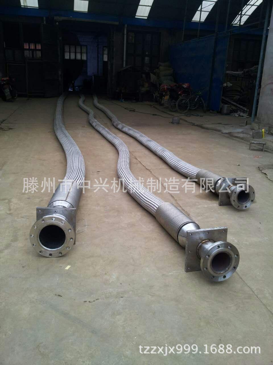 异型双法兰RF法兰 金属软管钢厂专用金属软管图片