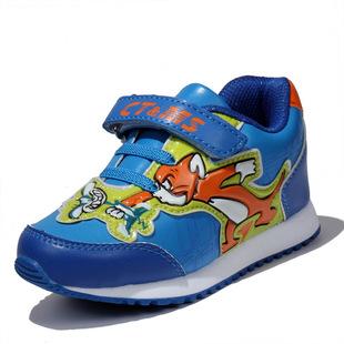**品牌童鞋2017春秋新款儿童运动鞋批发 全超纤时尚休闲跑步鞋