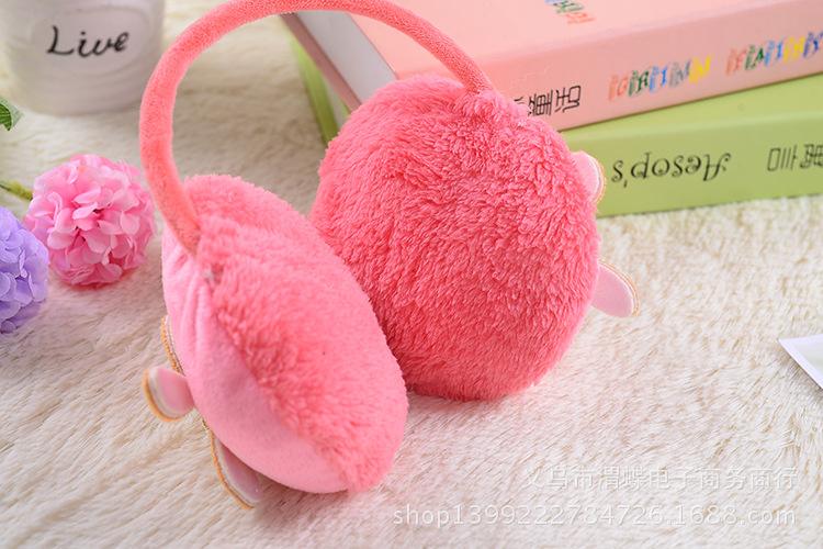 女生保暖耳罩可爱后戴式耳暖超大毛绒