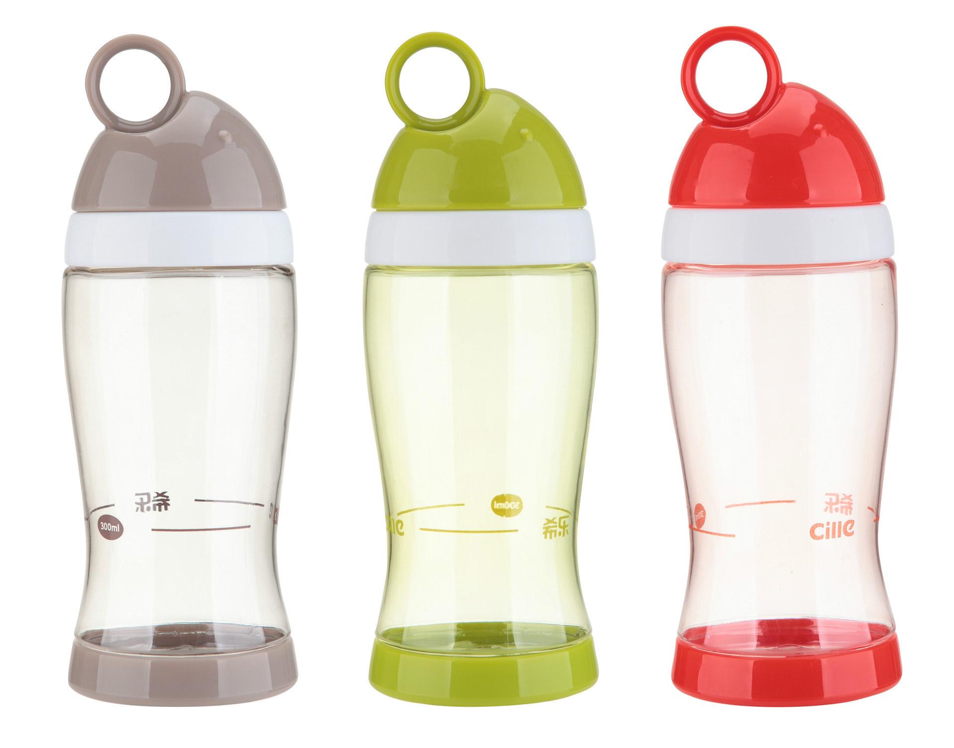 希乐乐鱼时尚水杯儿童杯密封防漏大容量水壶创意运动水壶XL1415图片