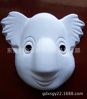 动物面具_纸制动物面具