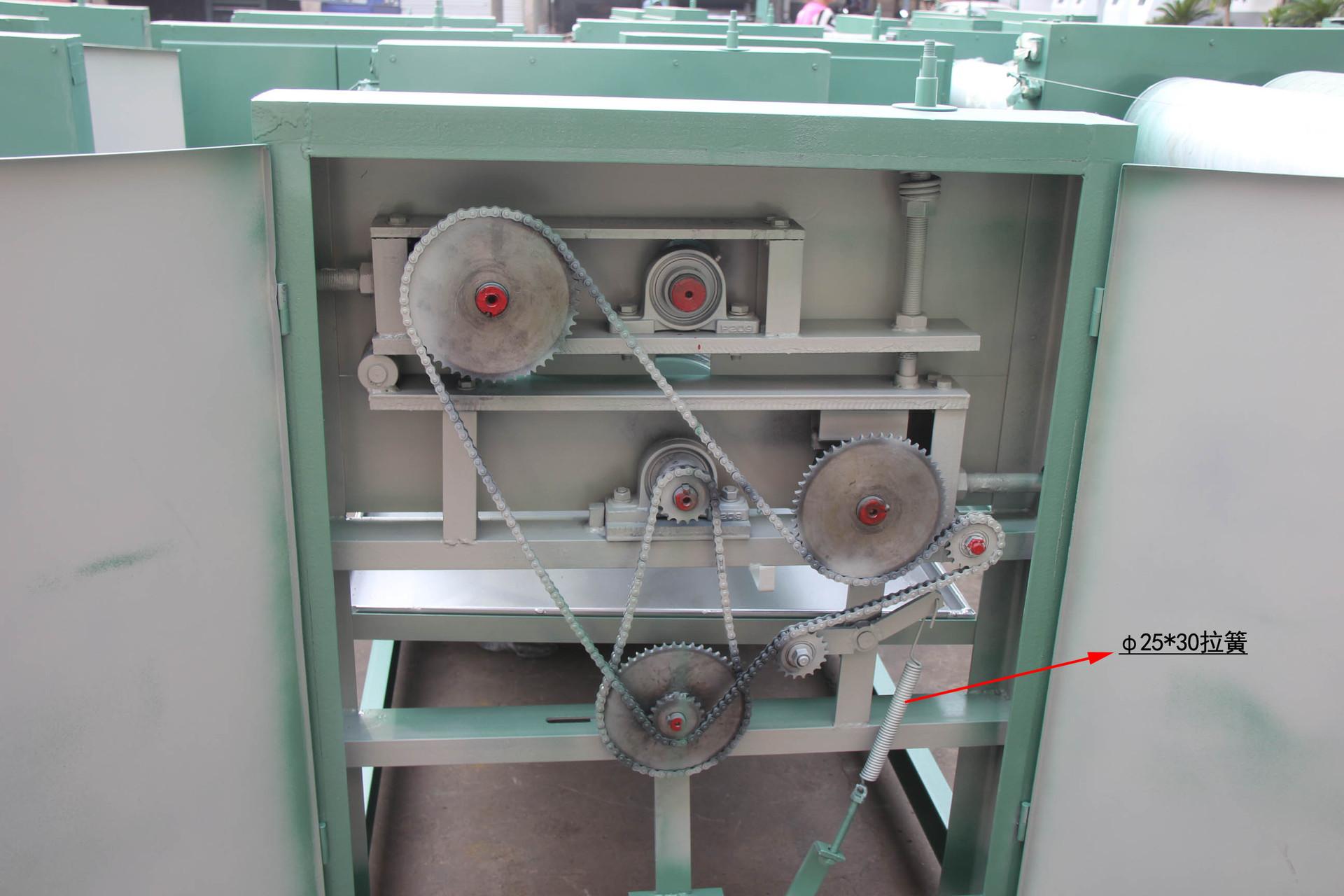 厂家供应 phi25300拉簧 链条涨紧拉簧 附传动 涂胶机 四辊 双面图片