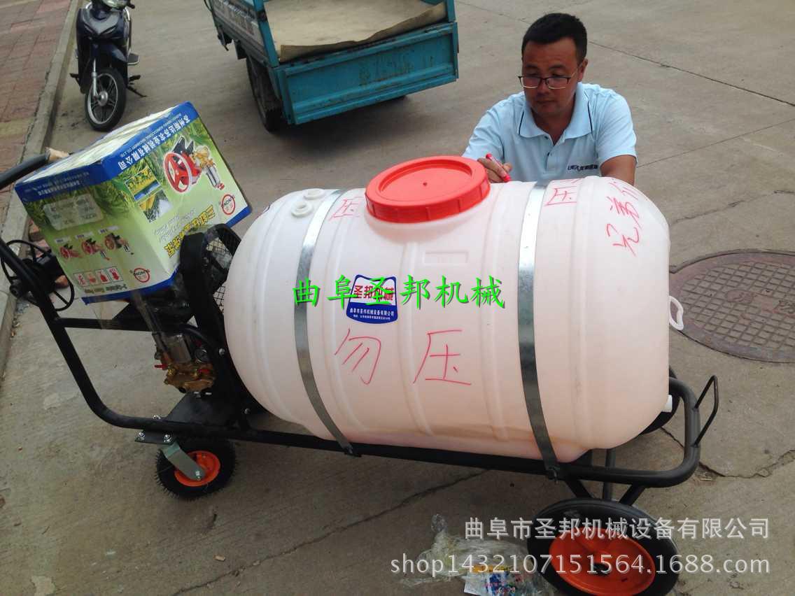 创新单人汽油打药机 使用方便四轮喷雾打药机 灵活高效专业
