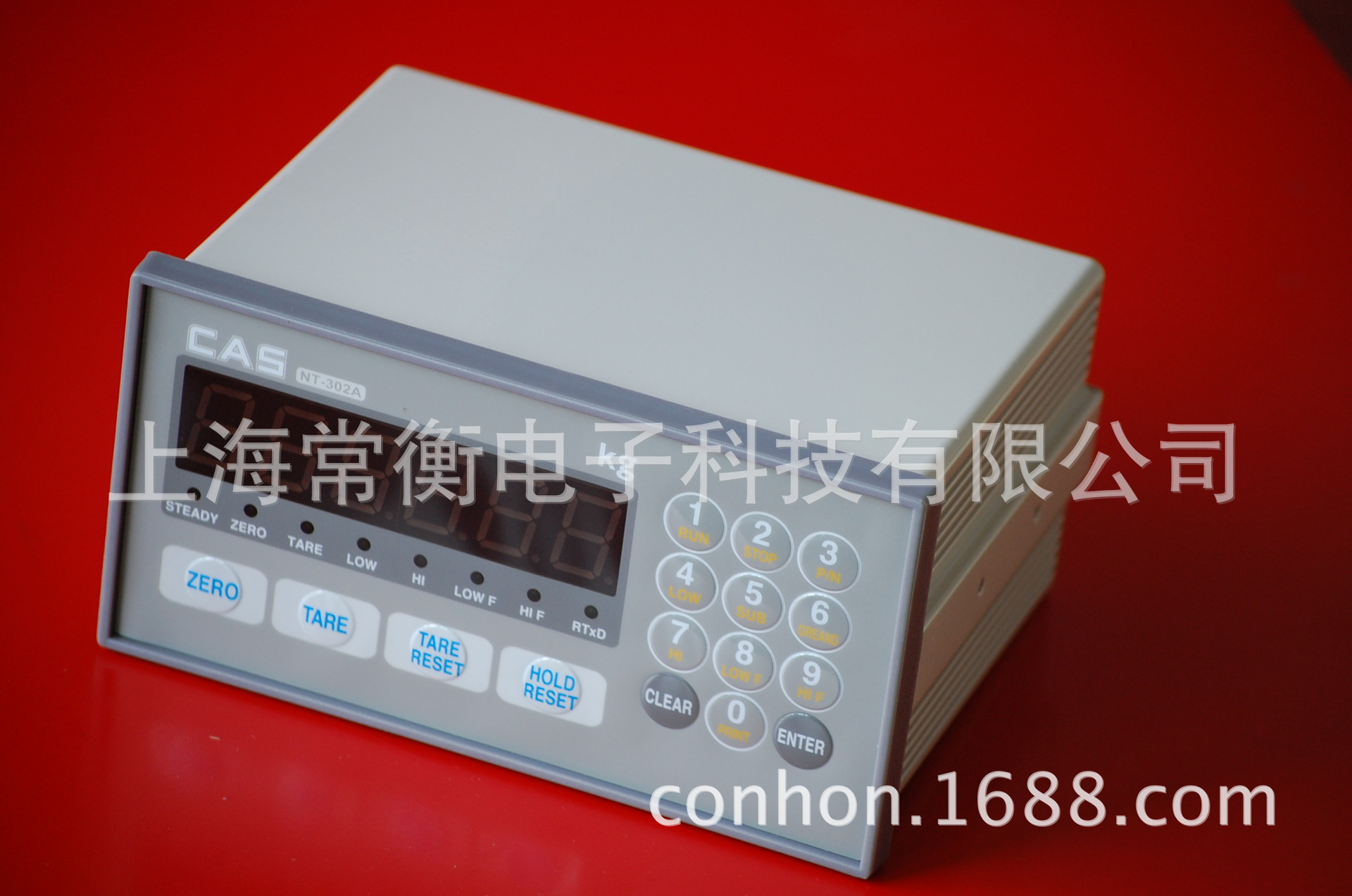 常衡供应韩国CAS/凯士NT-302称重仪表 多功能型 称重显示器仪表
