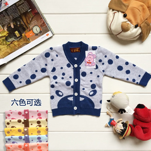 Children bottoming thick winter sweater Children sweater baby cotton cardigan sweater manufacturers, accusing