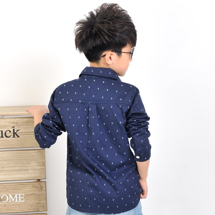 Spring 2015 Korean version of the new children's clothing Spring and Autumn child boys long-