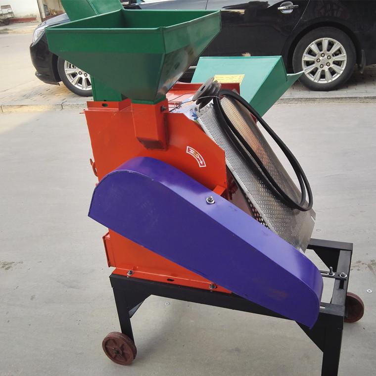 包邮小型玉米秸秆粉碎揉丝机 多功能铡草机图片