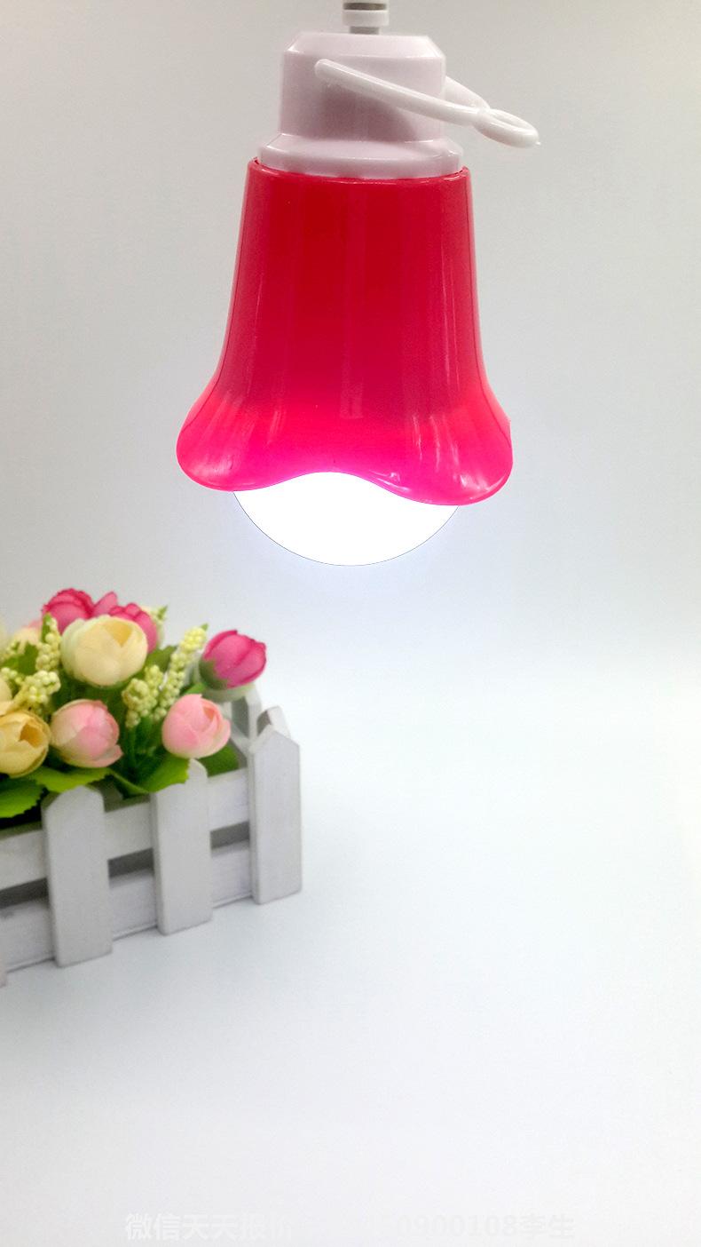 创意台灯球泡灯USB电脑灯可接充电宝应急夜市地摊台灯